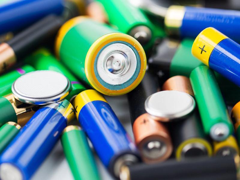 captación de residuos de pilas y baterias