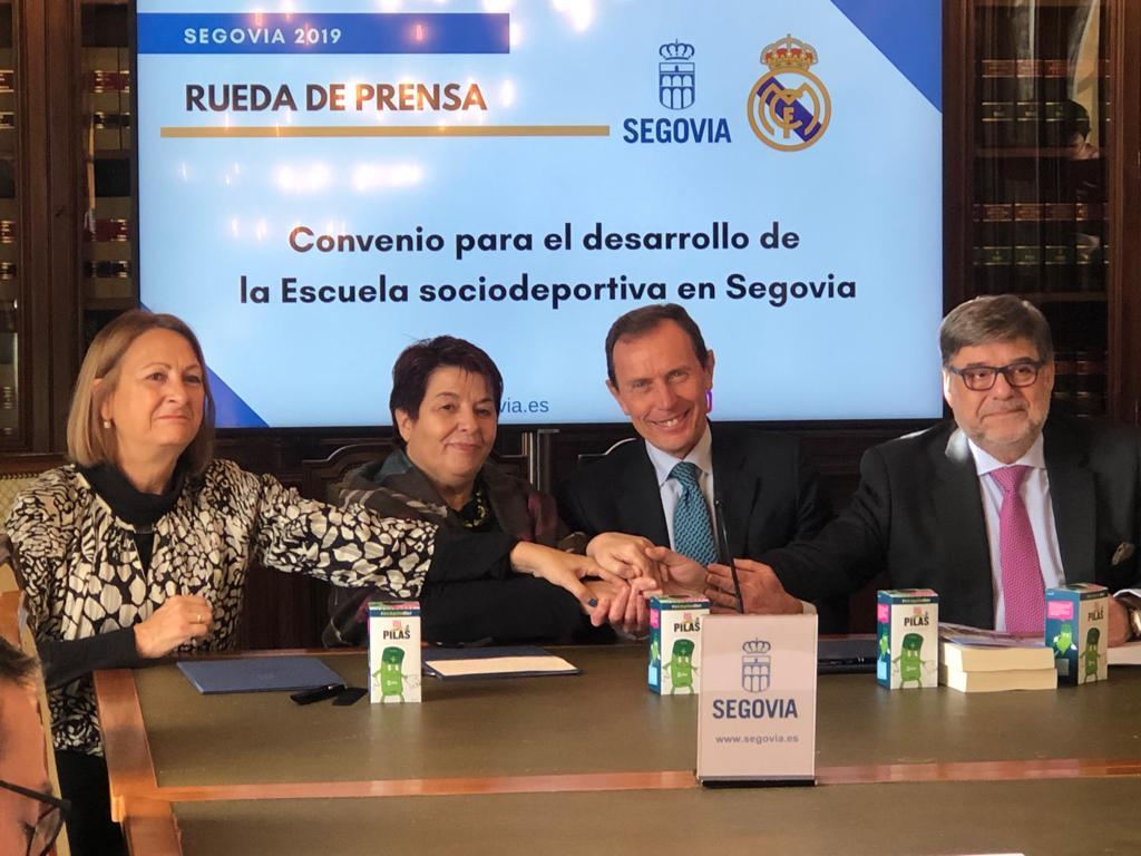 Acuerdo con la Fundación Real Madrid, Segovia y Ecopilas