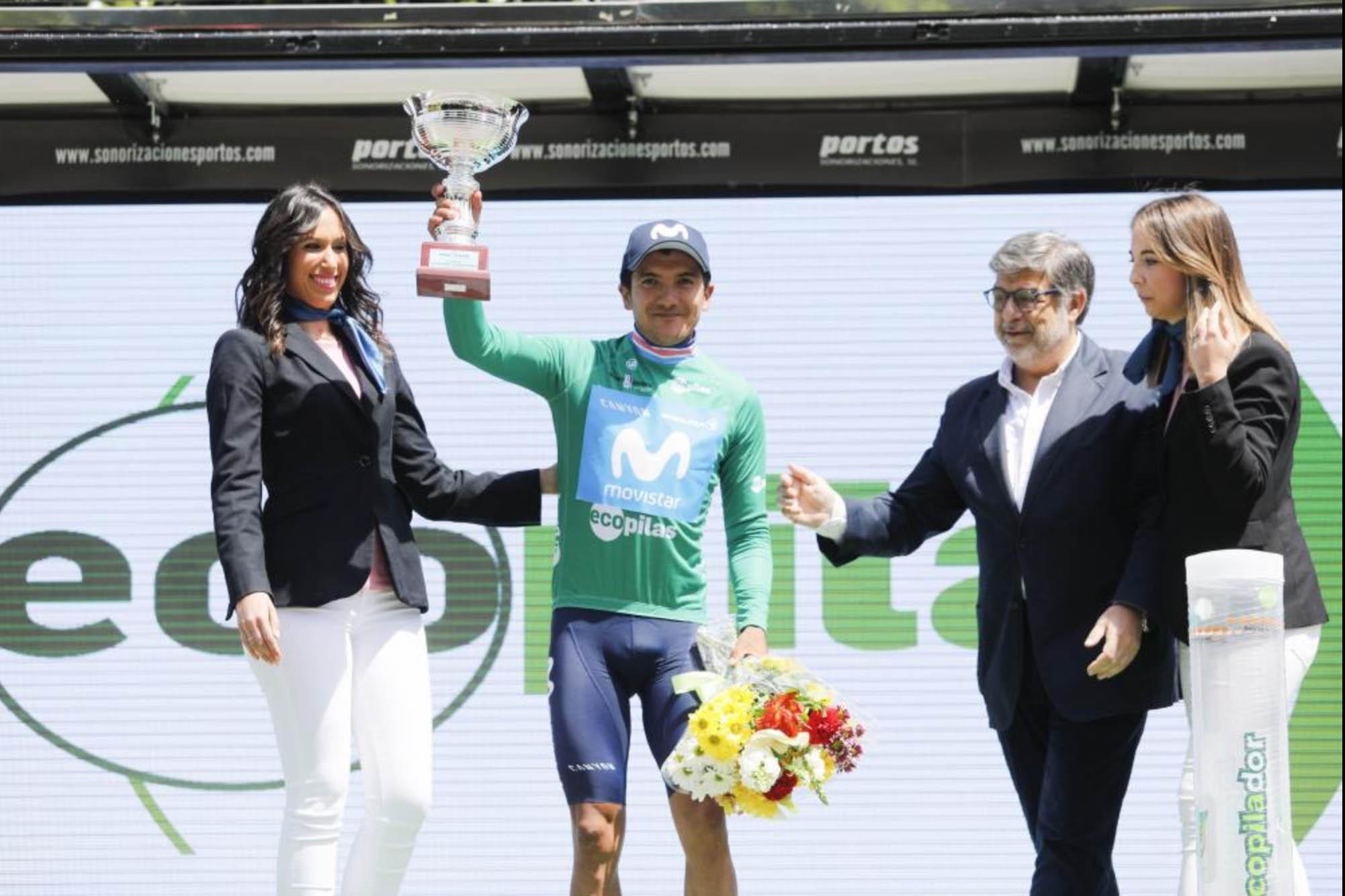 Ecopilas, en el podium de la Vuelta Ciclista a Asturias