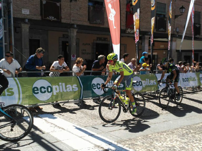 Vuelta Ciclista y Ecopilas