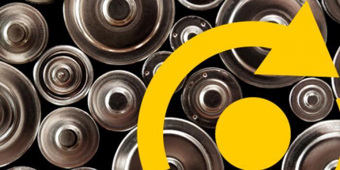Objetivos para el reciclaje de pilas en Europa
